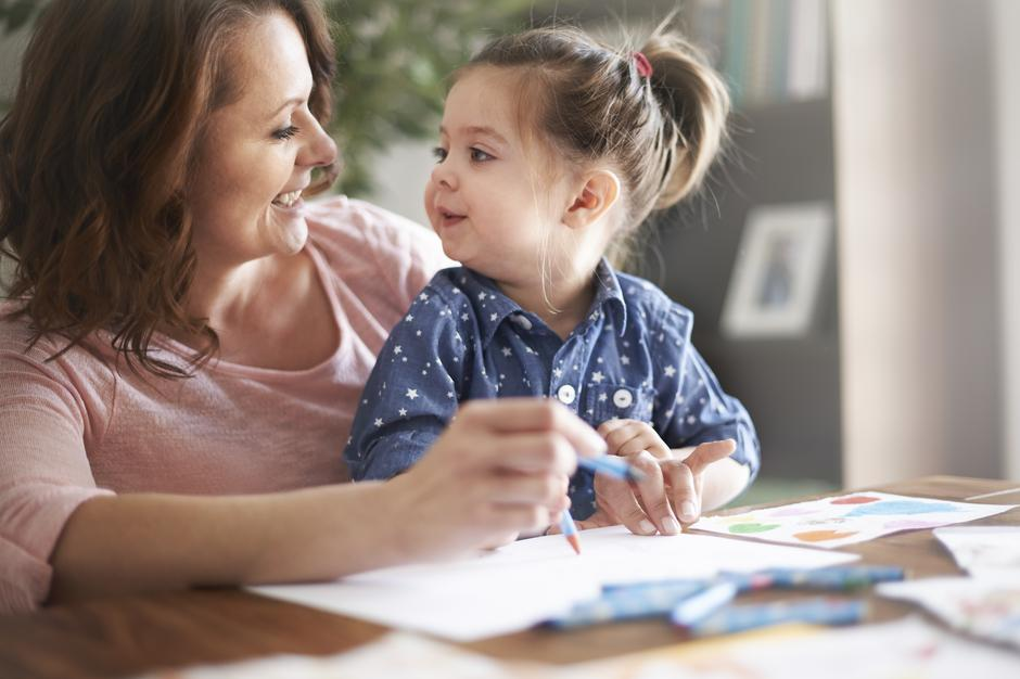 dijete, mama, govor | Author: Thinkstock