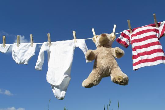 rublje beba pranje odjeća