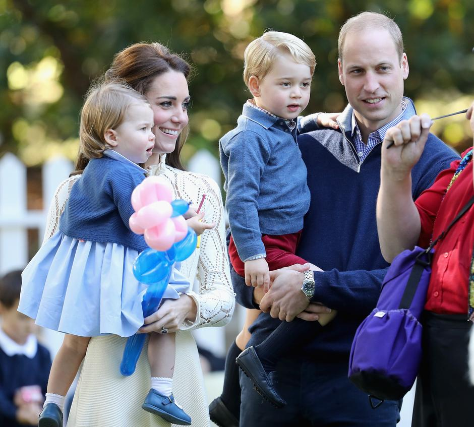 princeza Charlotte Kate Middleton princ William | Author: Chris Jackson/Press Association/PIXSELL