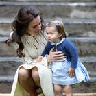 Princeza Charlotte Kate Middleton