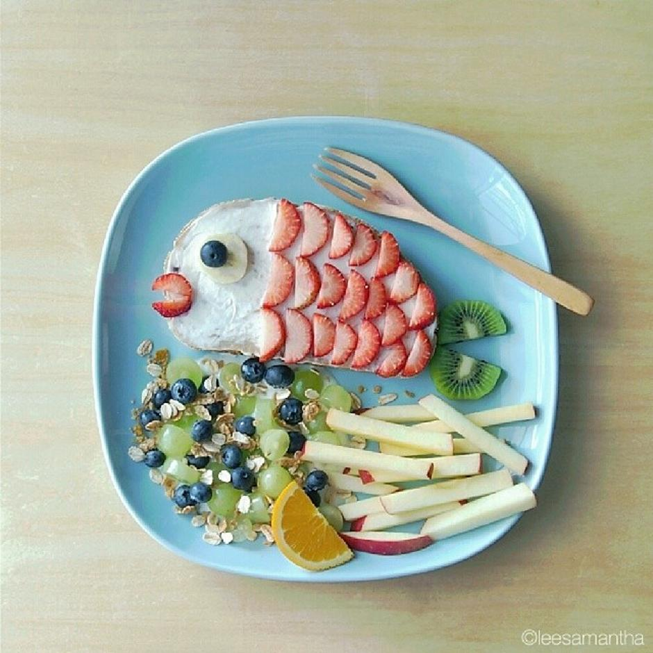 Samantha Lee, food art | Author: Samantha Lee