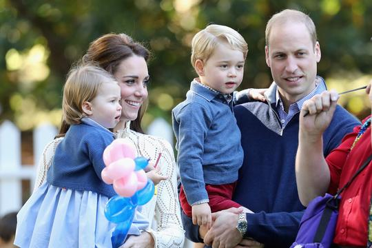 princeza Charlotte Kate Middleton princ William